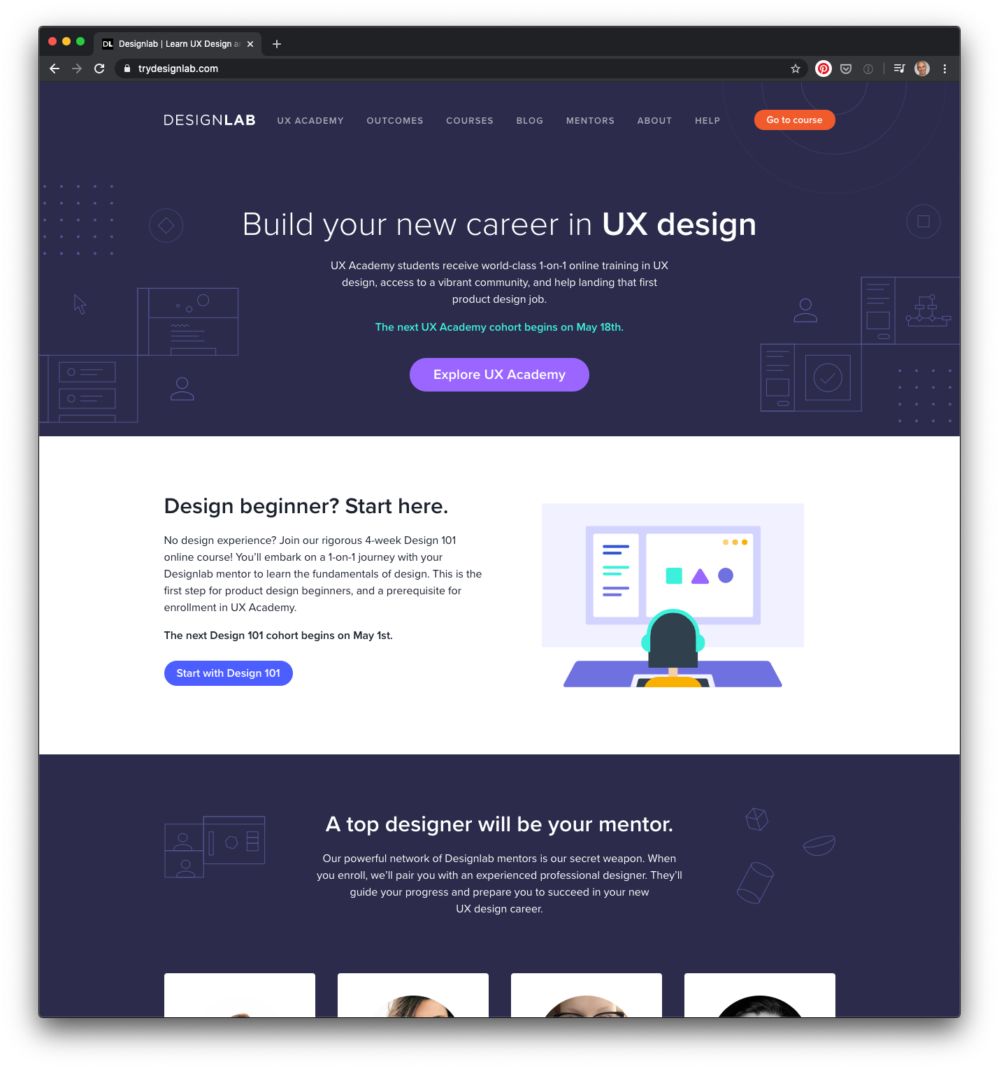 Build your new career in UX design